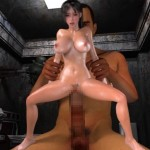 3d Babe fucked by a giant and pregnant