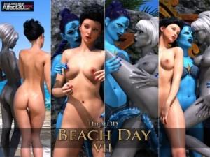 Beach Day part 7