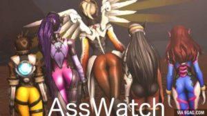 Booty Watch – An Overwatch Compilation of Ass HD
