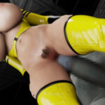 Hard Fuck For Space Slave