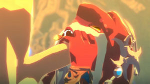 Mipha and Link – Full HD 1080p
