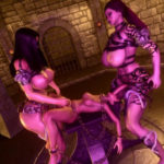 Giantess Threesome