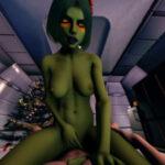 Gamora present